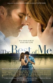 The Best of Me (2014)   I think many of us had thought about what it would be like to cross paths in the future with our first true love. What would it be like? What would it feel like?  That is what this film is about, get ready to start thinking about your ex.