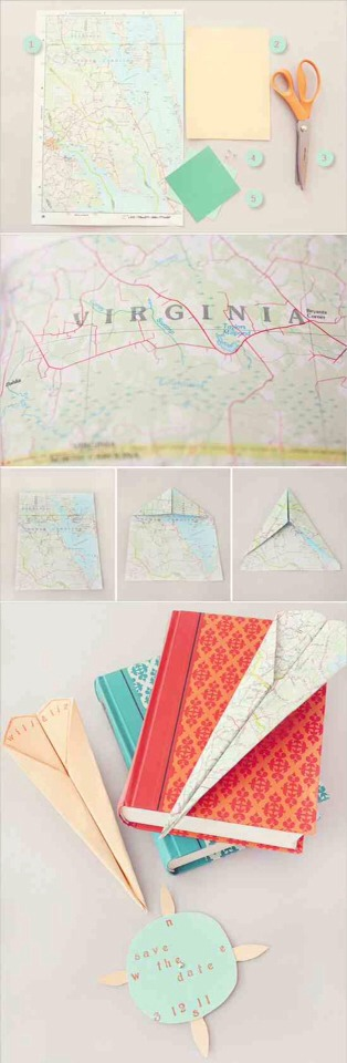 3. Paper Airplane Maps
