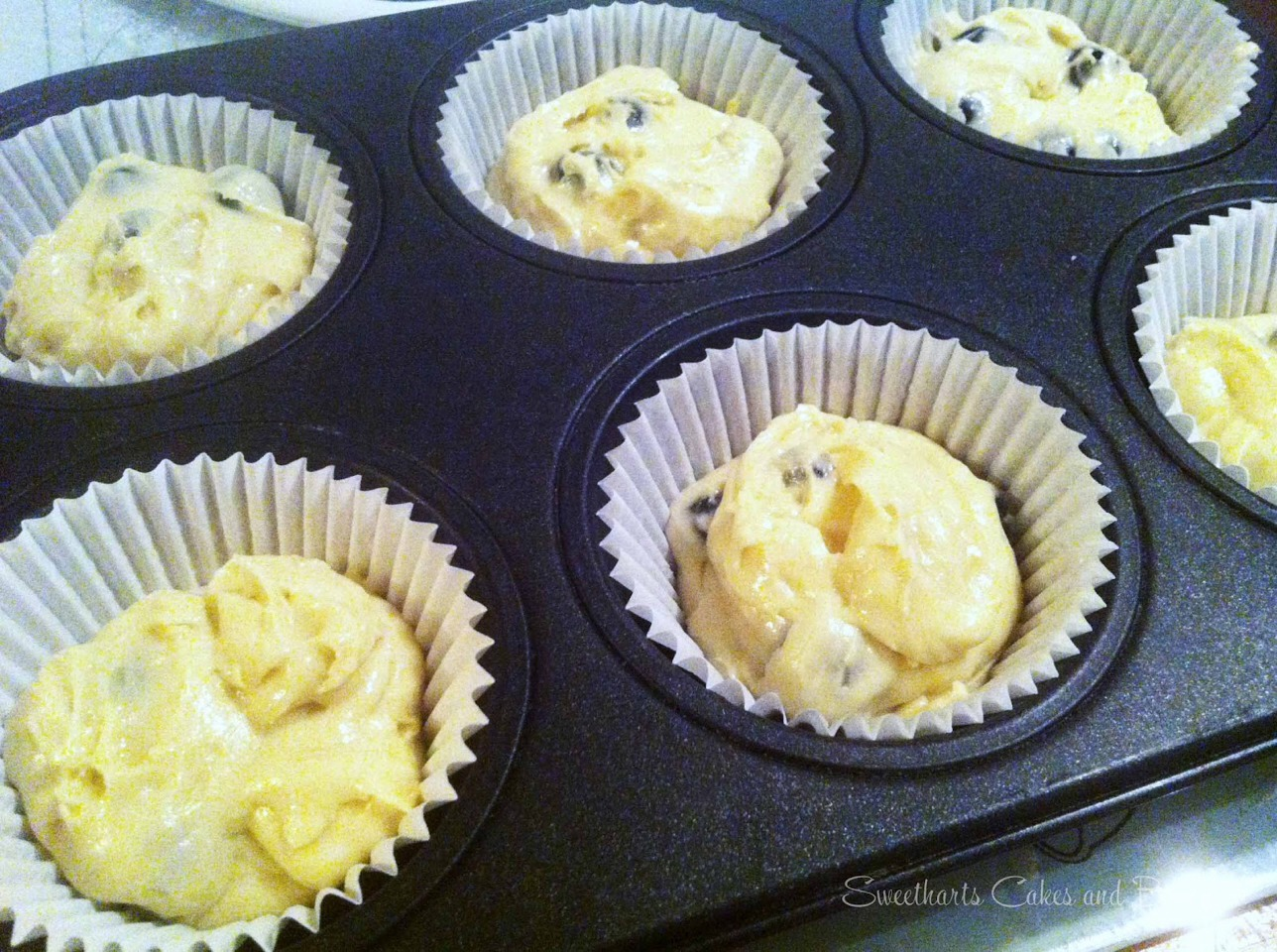 Put your mixture into your bun cases and put in the oven! Leave for 15-30 minutes but check every five minutes!