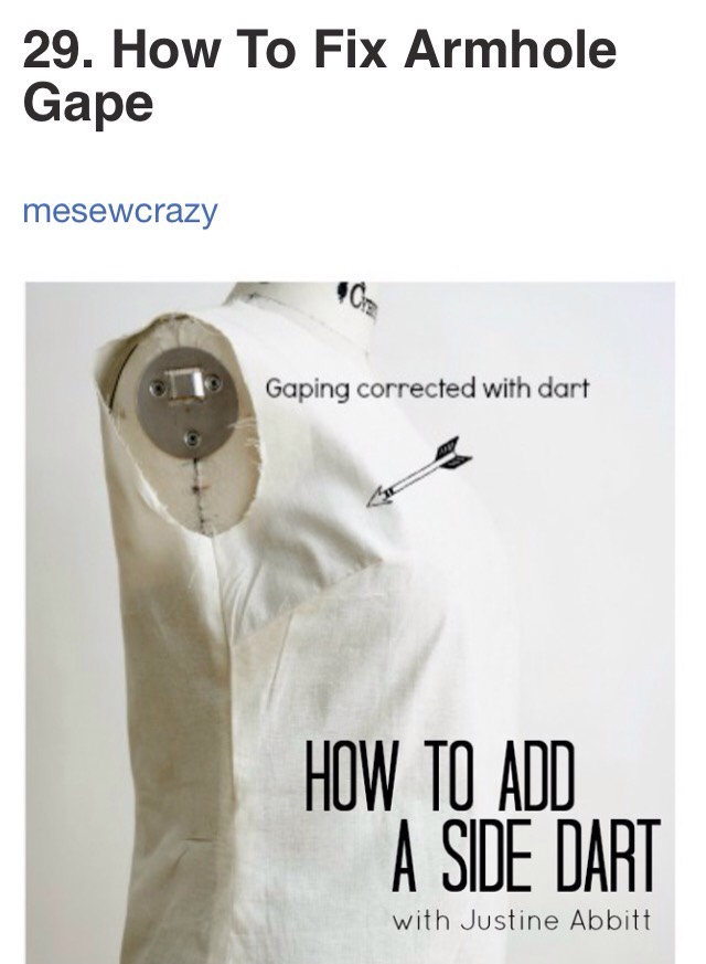 http://www.mesewcrazy.com/2014/02/how-to-add-a-side-dart-for-proper-fit.html