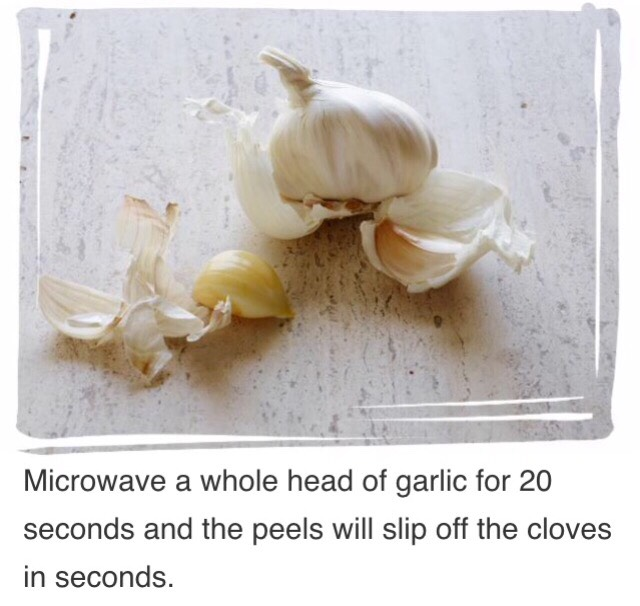 Peeling Garlic