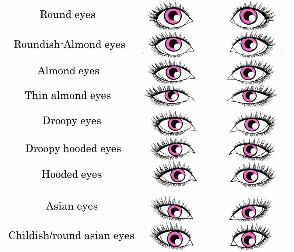 Finding your eye type is critical for finding the right make up style for you!