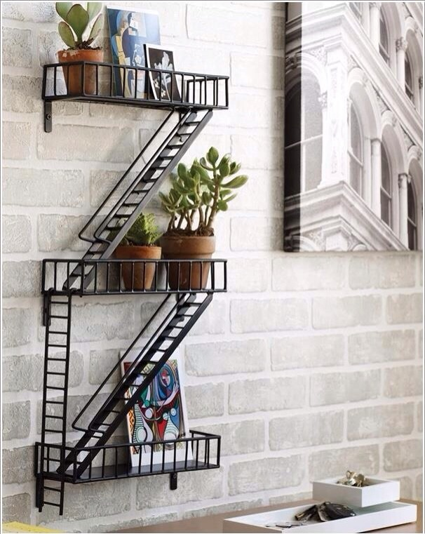 Mini fire stairs