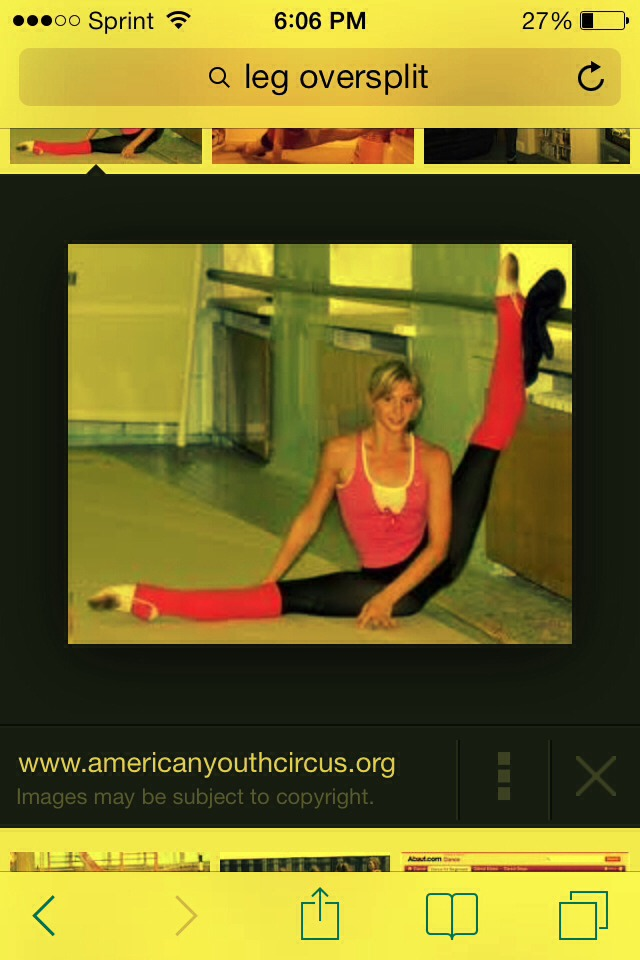 Stretch whether you do the splits or some simple lunges