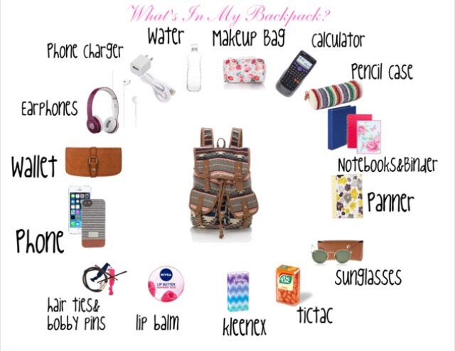 I have all of these things in my bag daily and its so helpful! 💘