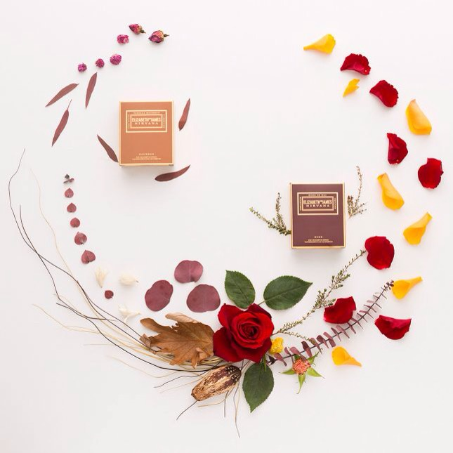 1️⃣Elizabeth + James Nirvana Rose Perfume + Nirvana Bourbon Perfume | Nirvana Rose withrose, geranium + vetiver to deliversa scent you can wear for anydaytimeoccasion. Nirvana Bourbonfeatures a sensual blend of vanilla bourbon, tuberose + oak wood that will take you into any evening adventure.