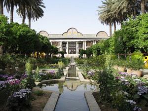 The Persian garden , Iran