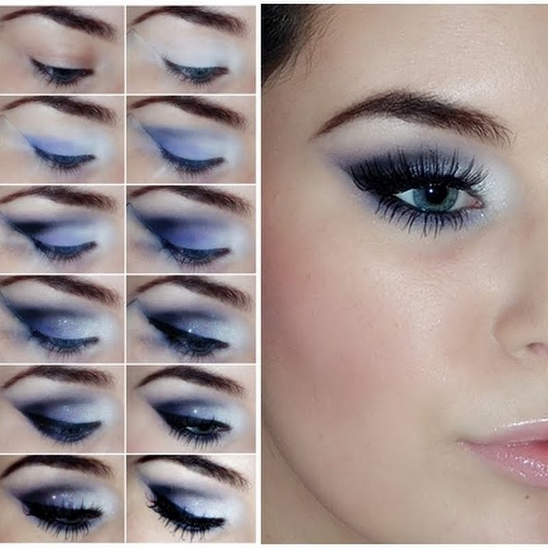 How To Apply Dramatic Eye Makeup For Blue Eyes - The Best Makeup ...