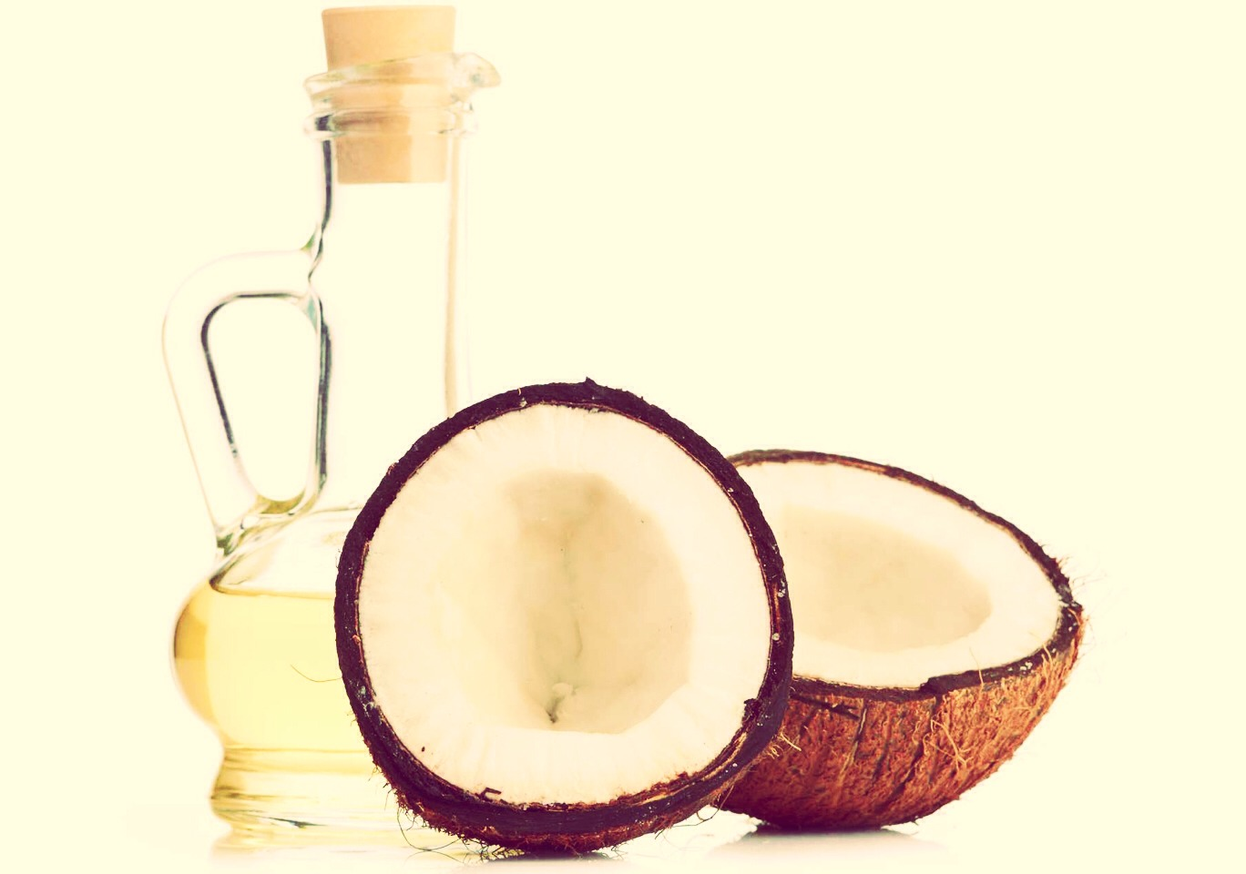 Coconut oil is rich in nutrients and good fats for overall health. To receive the full benefits, try to have at least a teaspoon of oil a day