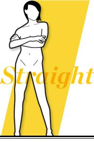 You're stick straight with very few curves. Add more shape to your waist and sculpt your glutes with this workout plan for straight body types.  Click here to get your workout: http://www.womenshealthmag.com/fitness/best-workouts-for-a-boyish-body-type