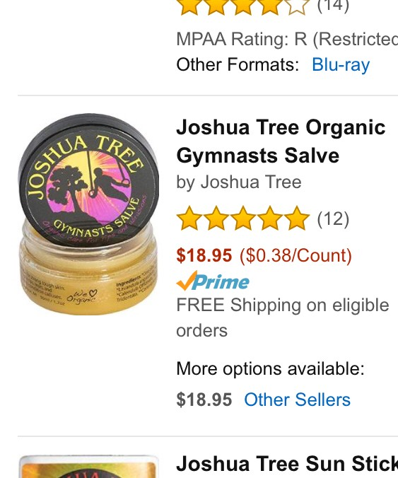 Gymnast if you have a hard day of bars during practice and happen to rip, this stuff will save your life!!! It helps quicken the healing process. It also helps with the discomfort you feel the next day. This is a must have for your bag