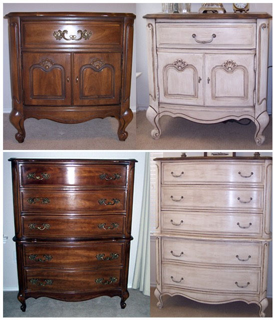 –You can use chalk paint on any surface.  It adheres to almost anything, and I've painted laminate, particle board, solid wood, leather, old and new furniture alike.  It's held up beautifully.  I will tell you this if you wax improperly, that's where you'll have more trouble.