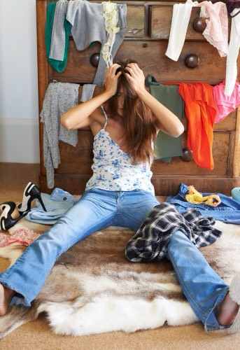 Things people forget: Clean out your drawers. Donate the things you no longer wear