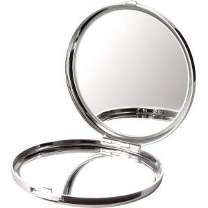 A compact mirror to check that dang hot red lipstick