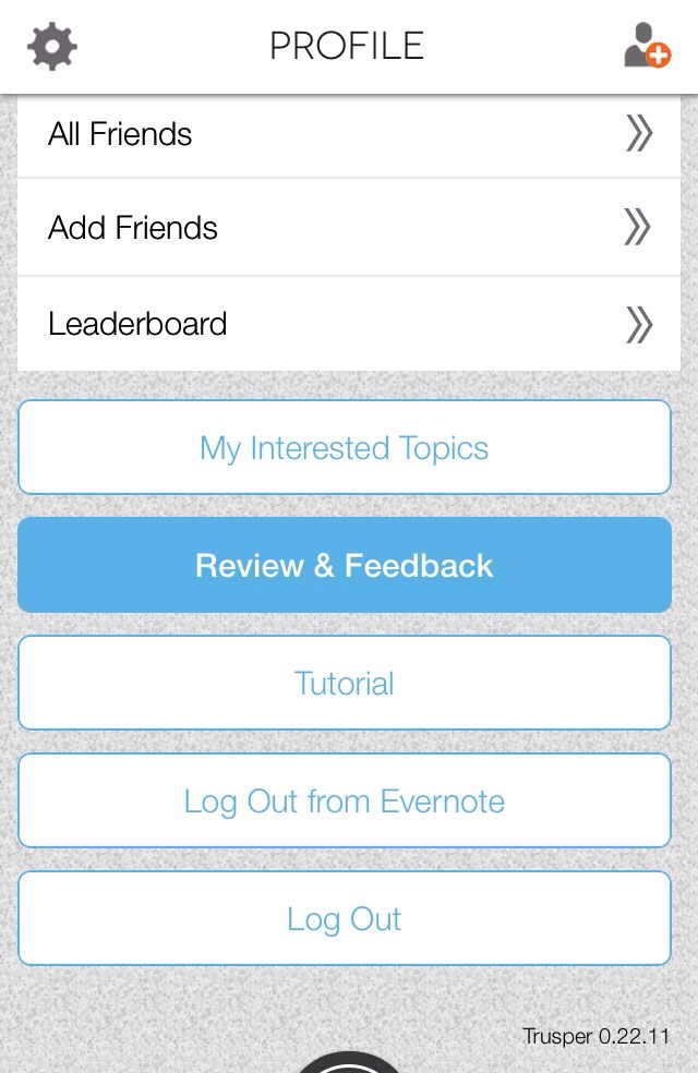 Trusper has created a way to hear your suggestions and feedback for site/app improvements! Just tap/click the blue review and feedback button...