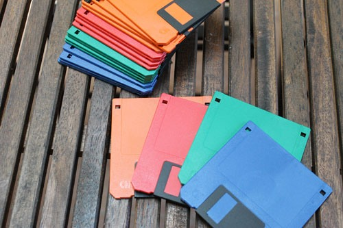 4 floppy disks needed