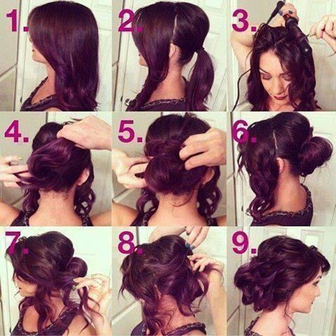 Вечерние и свадебные причёски. - YouTube