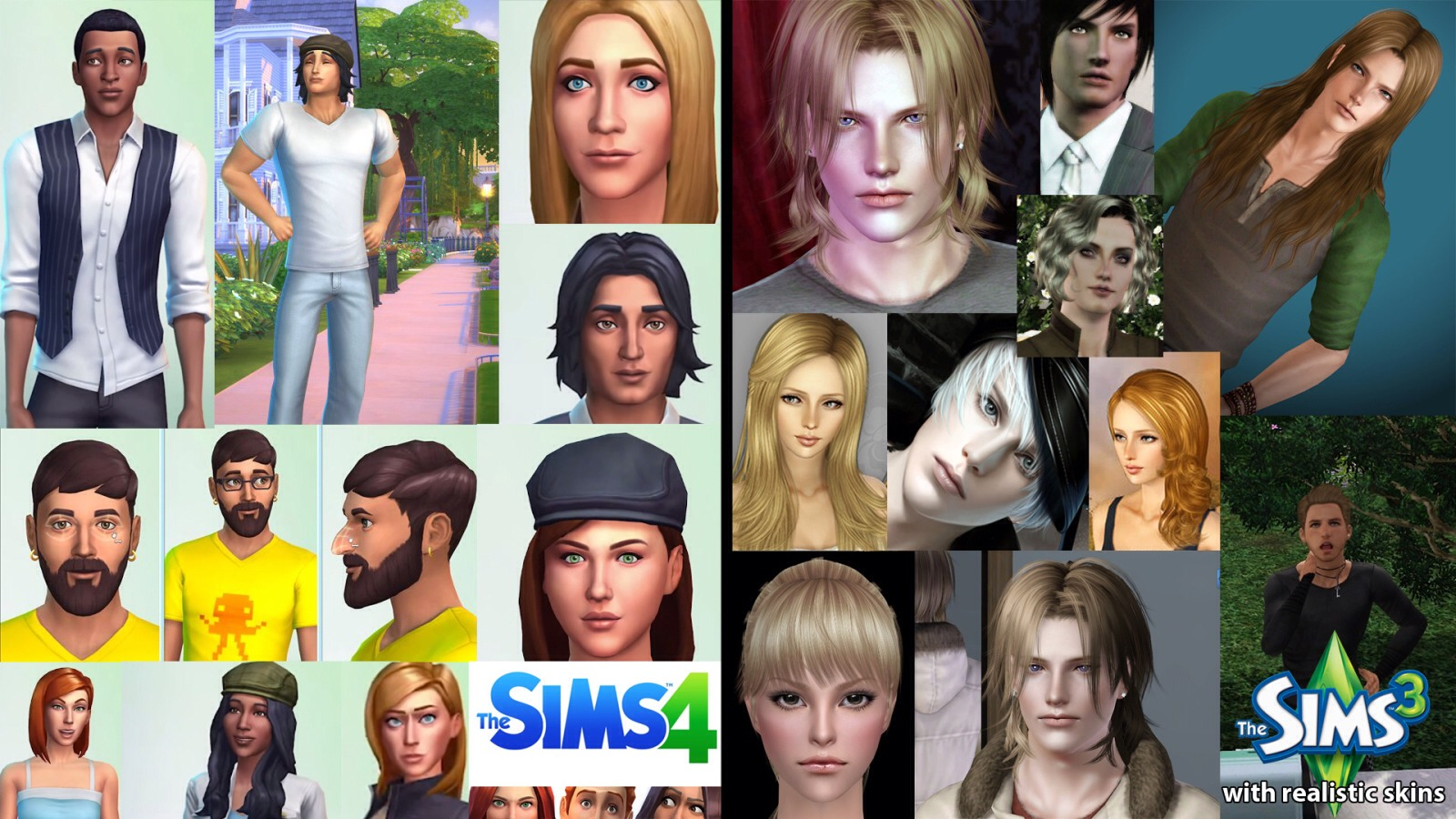 The Sims 4 is all about the Sim. In the new Sims 4, Create a Sim has all new features. Rather than sliders, the player physically controls how the body features will look. Also, there are many new traits to choose, and now able to choose many more.