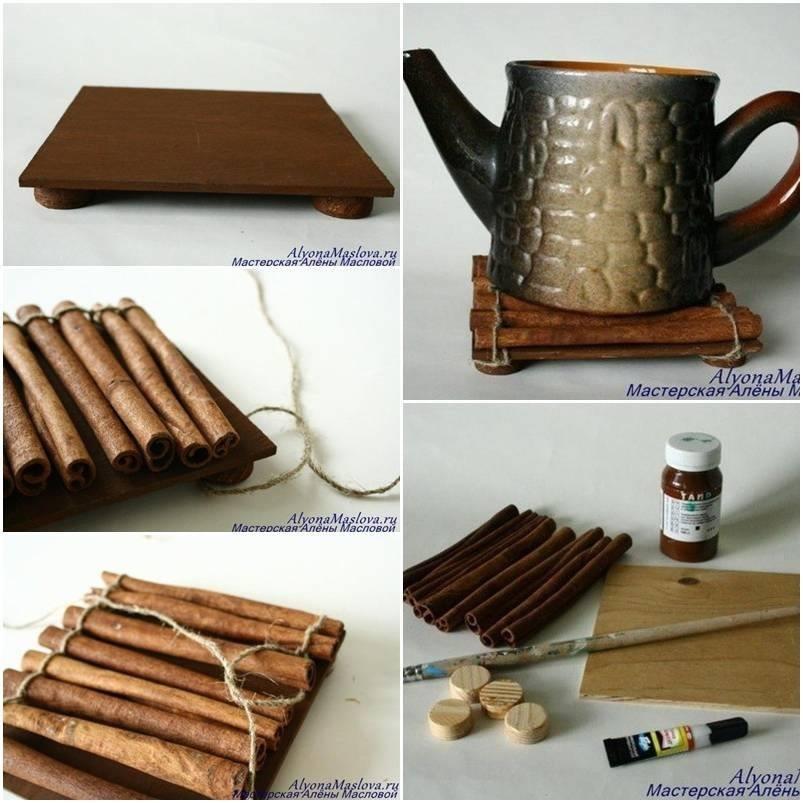 Fragrant cinnamon stick stand