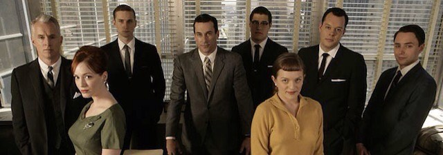 """""""MAD MEN""""We followDon Draper, who works for an ad agencylike most in the show,on an unexpected journey of discovery through his personal highs & lows. And that's just scratching the surface of what the show'sreally about.  """"Mad Men"""" earned its reputation as one of the best TV shows ever."""