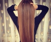 Comb through your hair every single day. Do simple hair styles and avoid using heat.