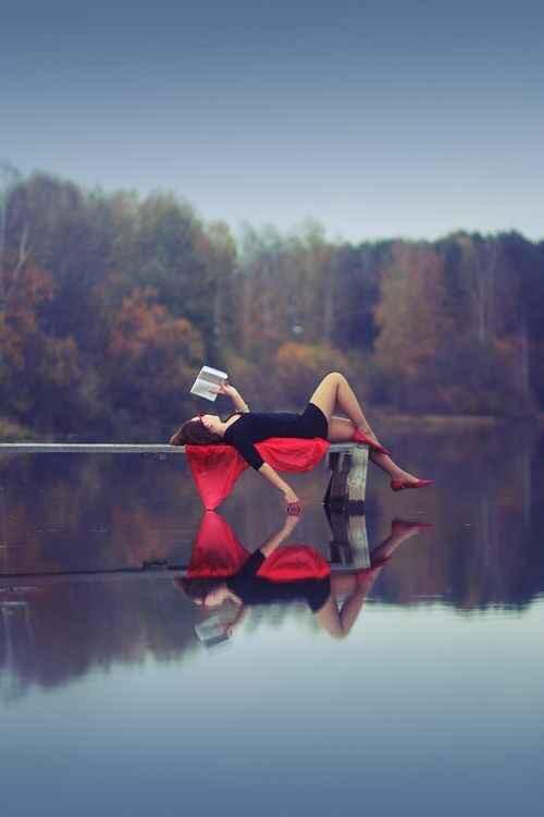Venture to a lake