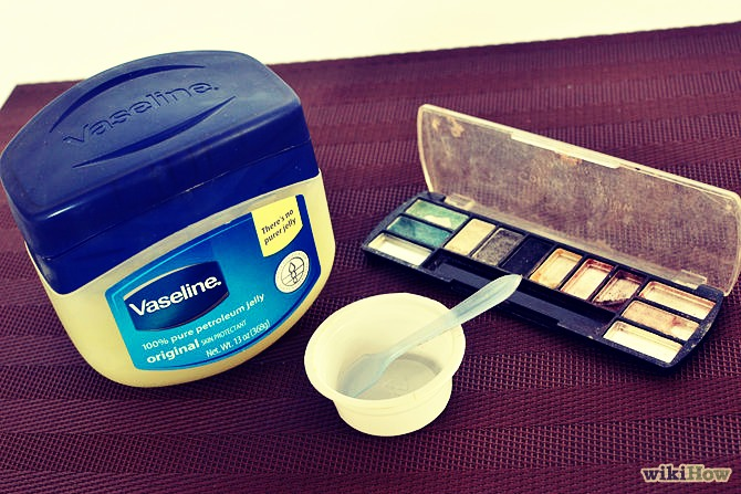 Put small scoop of Vaseline in the microwave for 20 seconds. Then mix in your fav color eyeshadow! Next mix in a small amount if a fruity drink mix for an excellent taste.