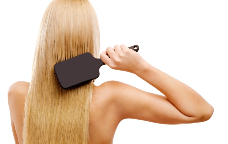 Brush your hair before you hop into the shower. Also remember to brush twice a day for 2 mins