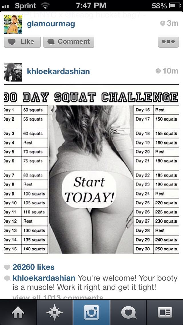 30 days! Ready, set, go!