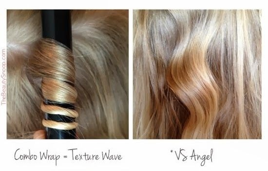 Double click for full image - please don't forget to like  VS Angel - As you can see in the first picture you just need to combo wrap your hair and you 'll have beautiful texture waves