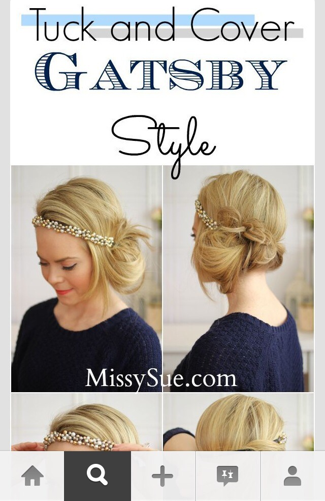 The Great Gatsby Hair Style Very Elegant X By Binny Dhawan Musely