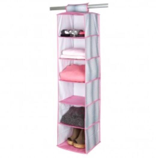 6 Shelf Organizer, $13.50, dormify.com