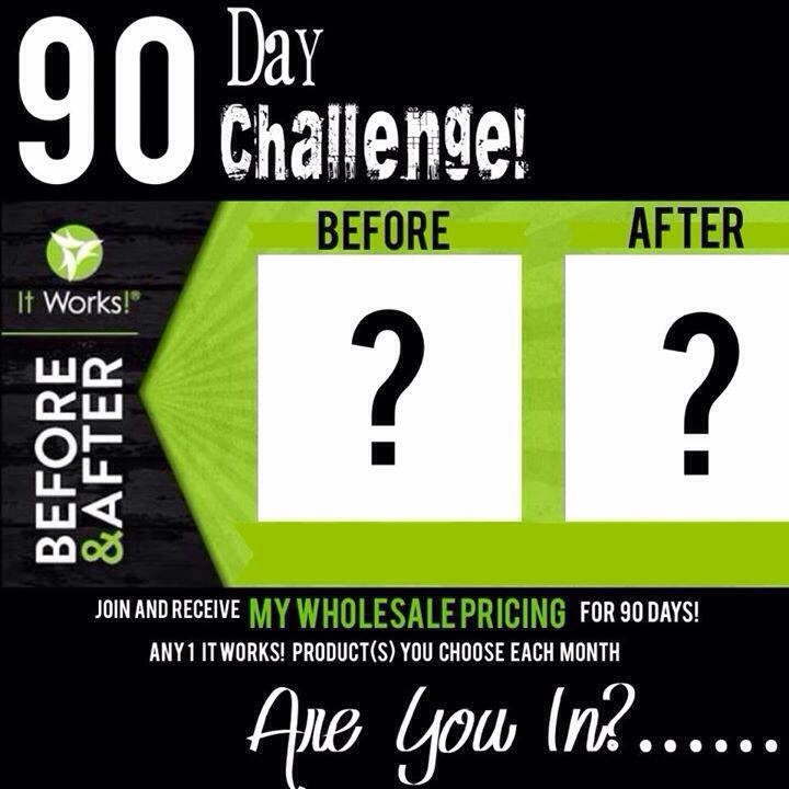 Take the challenge!!