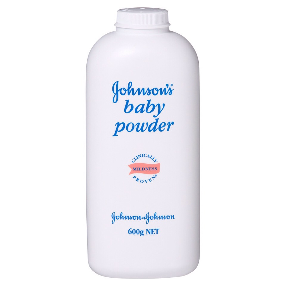 "Lightly drizzle baby powder all over the ""tattoo"" and let it settle. Once it has settled  shake your arm so that all of the extra baby powder falls off."