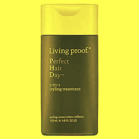 13. This multi-tasking product works as a styling agent and a conditioner while providing heat and UV protection for damaged or dyed hair.