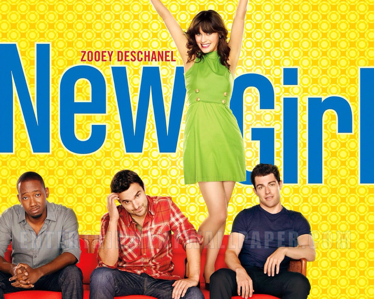 New Girl is a series about a quirky teenager fresh off a break-up moved into a new apartment, where she meets her new roommates: Schmidt, the quintessential former fatty turned rich douche, formal pro baller Winston, and law school dropout and potential love interest Nick.