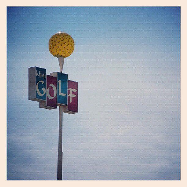 27. Play mini golf