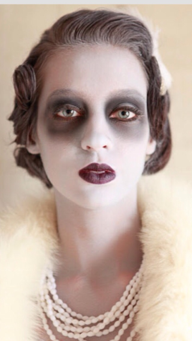 I think I can pull this off for Halloween already got the dark under eye circle