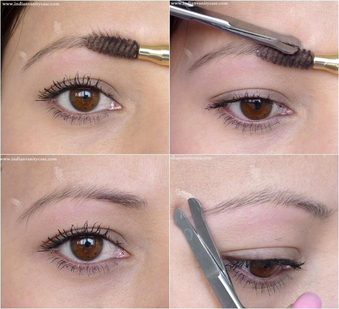 If the hairs of your brows are particularly thick or unruly, you could trim them. You should only do this if you really have to, and remember to trim sparingly! It's easy to go to far with this. Trim a bit, then check, repeat.