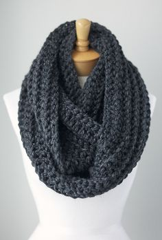 infinity scarves.