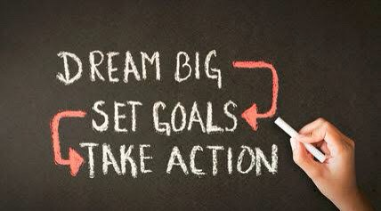 Set realistic goals to keep you motivated and on task.