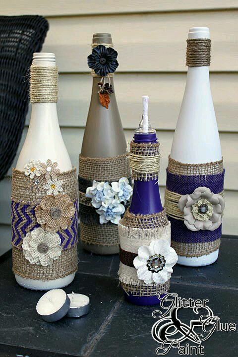 Wine Bottle Decorating Ideas