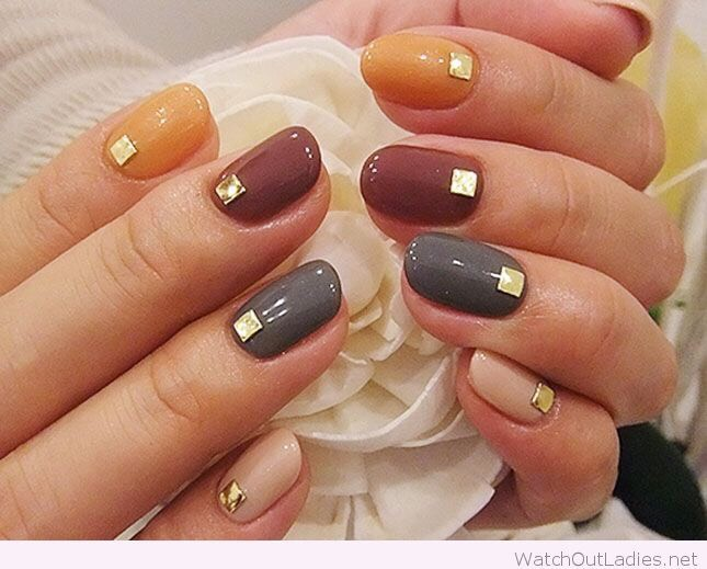 Swapping Summer Nail Colors To Fall Colors!! One Color Basic Nail ...