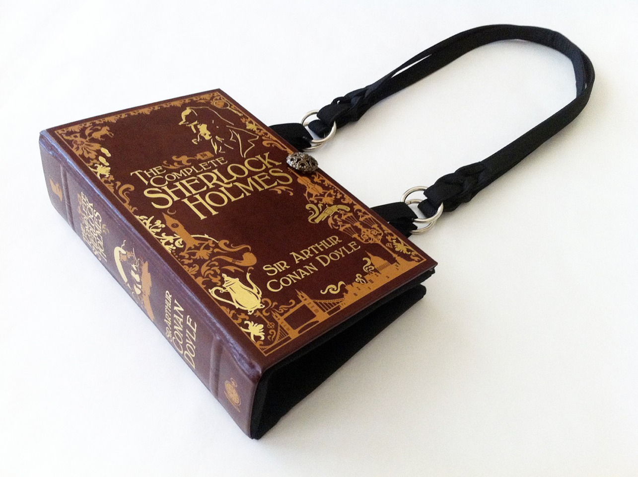 5. Last but not least and my personal favorite...the newest nerdy trend...the book purse!