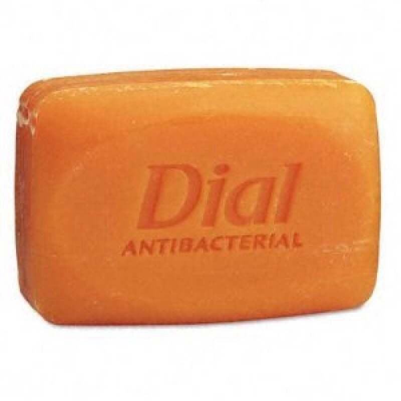 Wet the spot and rub with original orange bar dial soap for tough older stains use toothbrush to rub in and let sit for a bit before laundering you would be amazed at what one bar of soap can get out!