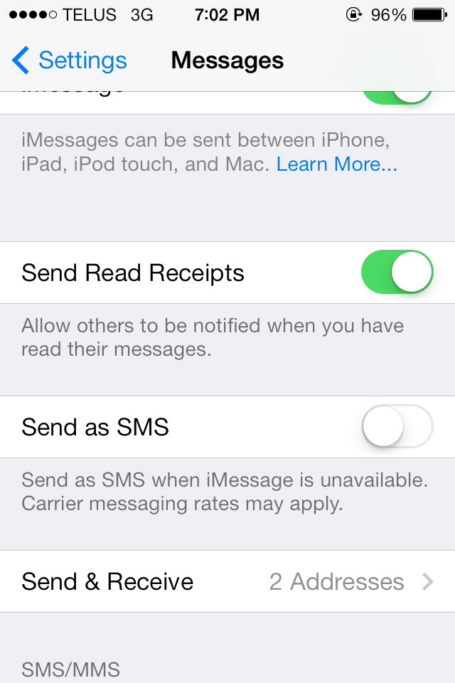 iphone messages not sending iphone text messages not sending with ios7 musely 15326