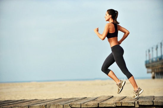 1. Run. Running is very helpful in getting a lean body. Because it is cardio, it will slim you down by helping you lose fat all over. Slowly build your mileage up and run at least 3 times a week. You will soon get used to it.