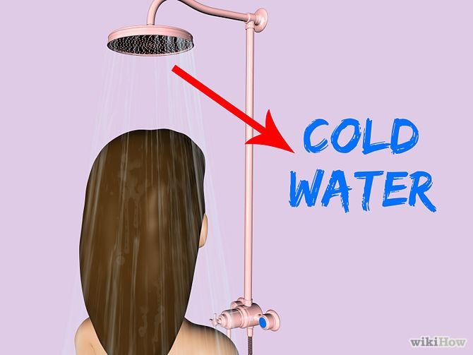 When your having a shower, have a cold shower! I know it sounds scary but it took me a few days do get used to it 1. It will make your hair less greasy  2. It will keep your hair healthy
