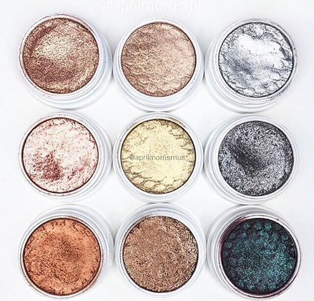 ColourPop makeup is amazing. Their shadows and highlighters are extremely pigmented and very smooth/soft