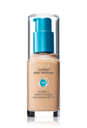 start out with covergirl outlast stay fabulous foundation💋